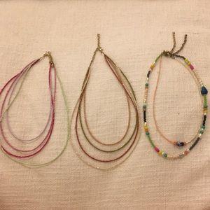 Lot of Mango Necklaces